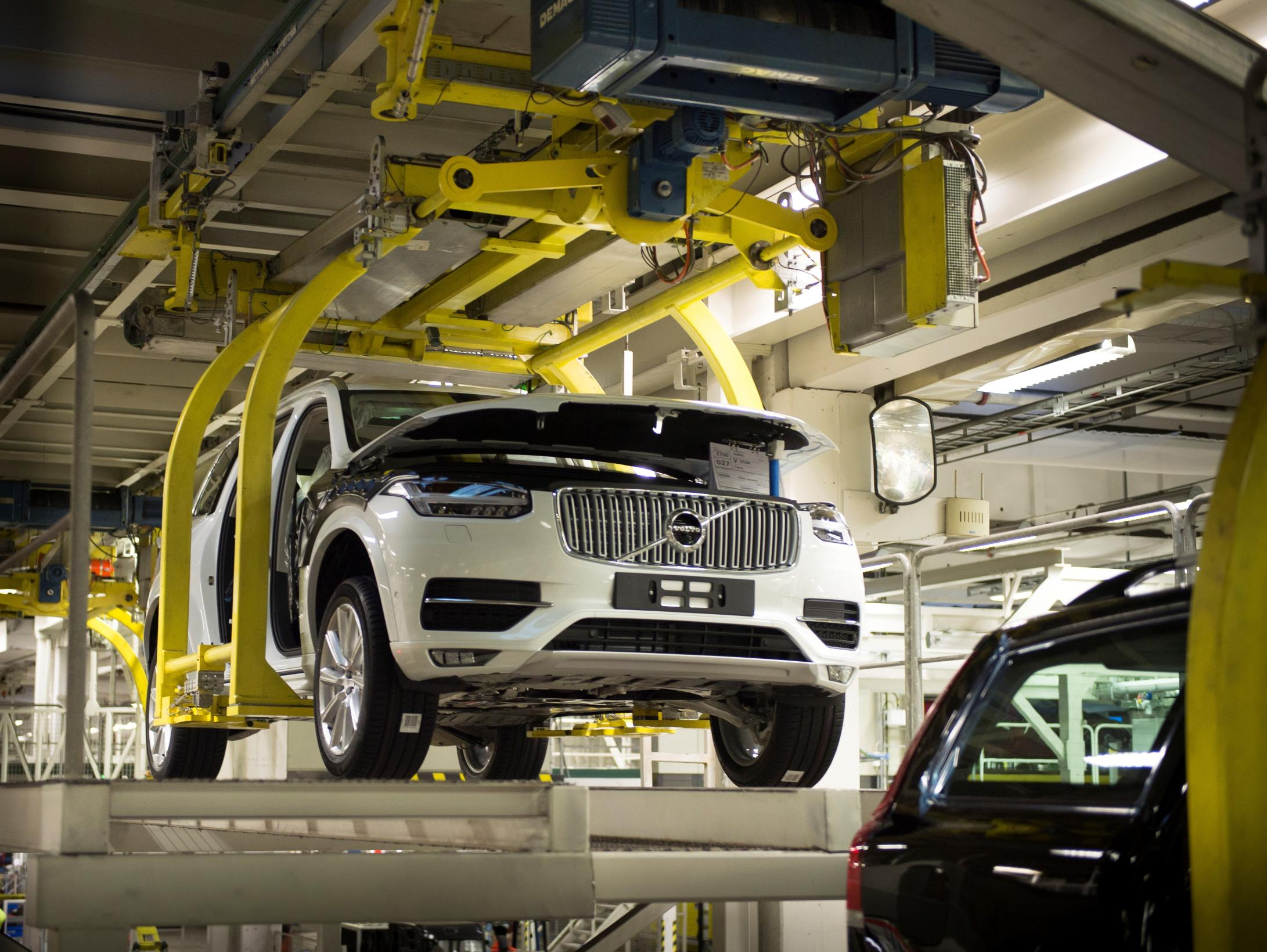Volvo Opening First Us Factory In South Carolina Production Will Start In 2018 Autoevolution