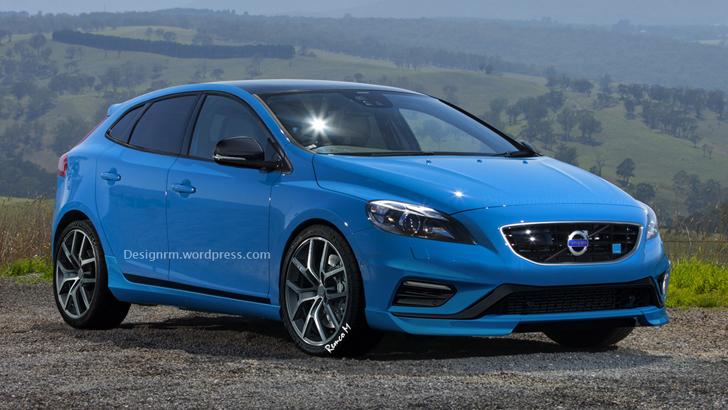 Volvo Planning Polestar-Tuned V40 Hot Hatch - autoevolution