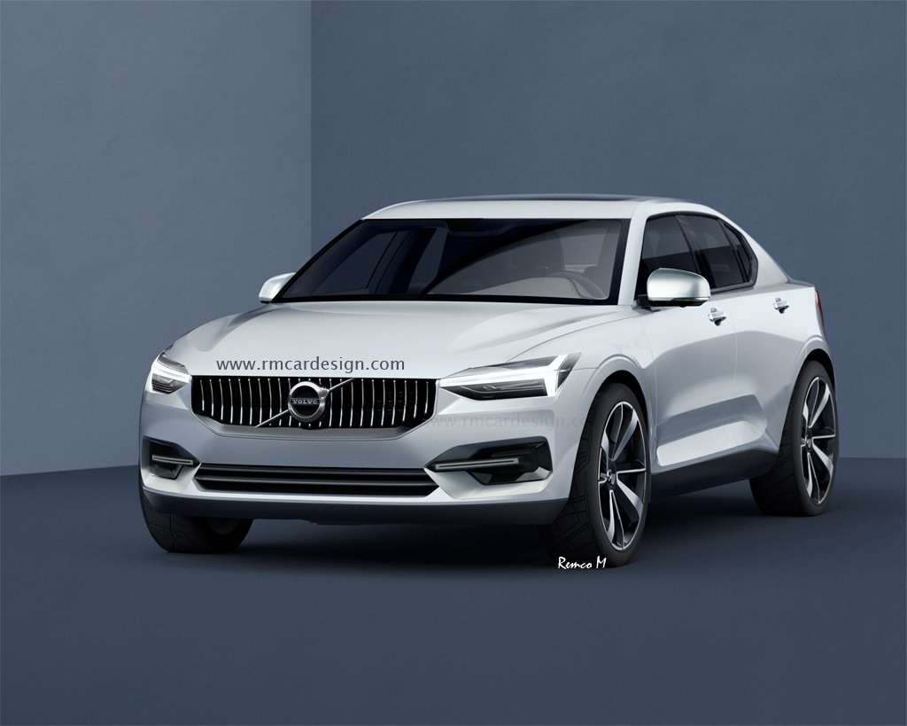volvo s40 rendering is the crossover sedan of the future autoevolution. Black Bedroom Furniture Sets. Home Design Ideas