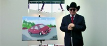 Volvo S60 Painting by Blind Artist to Be Auctioned