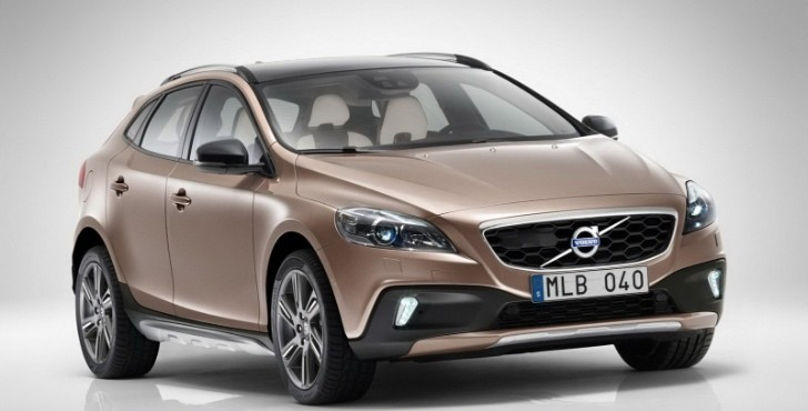 Volvo Shows Off New V40 Cross Country Ahead of Paris