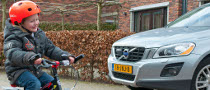 Volvo Supports Use of Bicycle Helmets in Netherlands