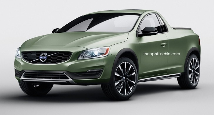Nice Volvo S60 2 Door Pickup Is A Stunning Idea That Will Never Happen    Autoevolution