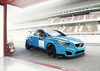 Baby-blue C30 hiper-hatch racer