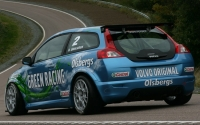 Bio-ethanol fueled Volvo C30 race car