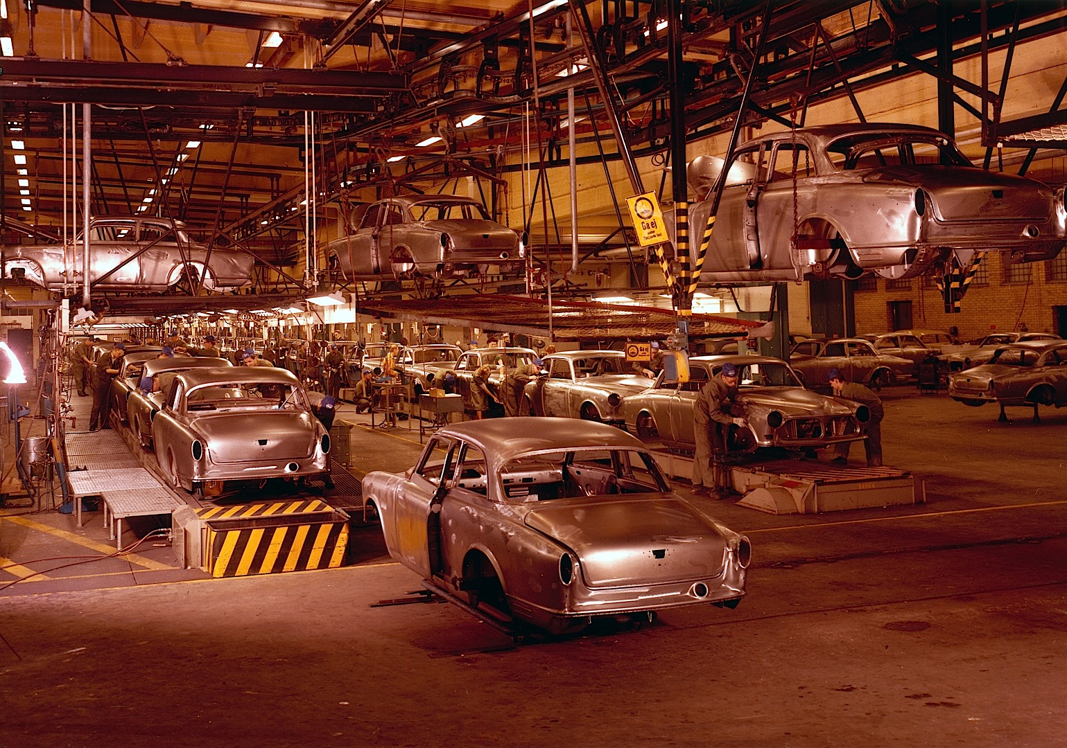 Volvo Torslanda Plant Celebrates 50th Anniversary, Innaugurates TA3 Body Shop - autoevolution