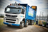 Volvo FM 8x4 joins the fleet at Amber Services Waste Recycling