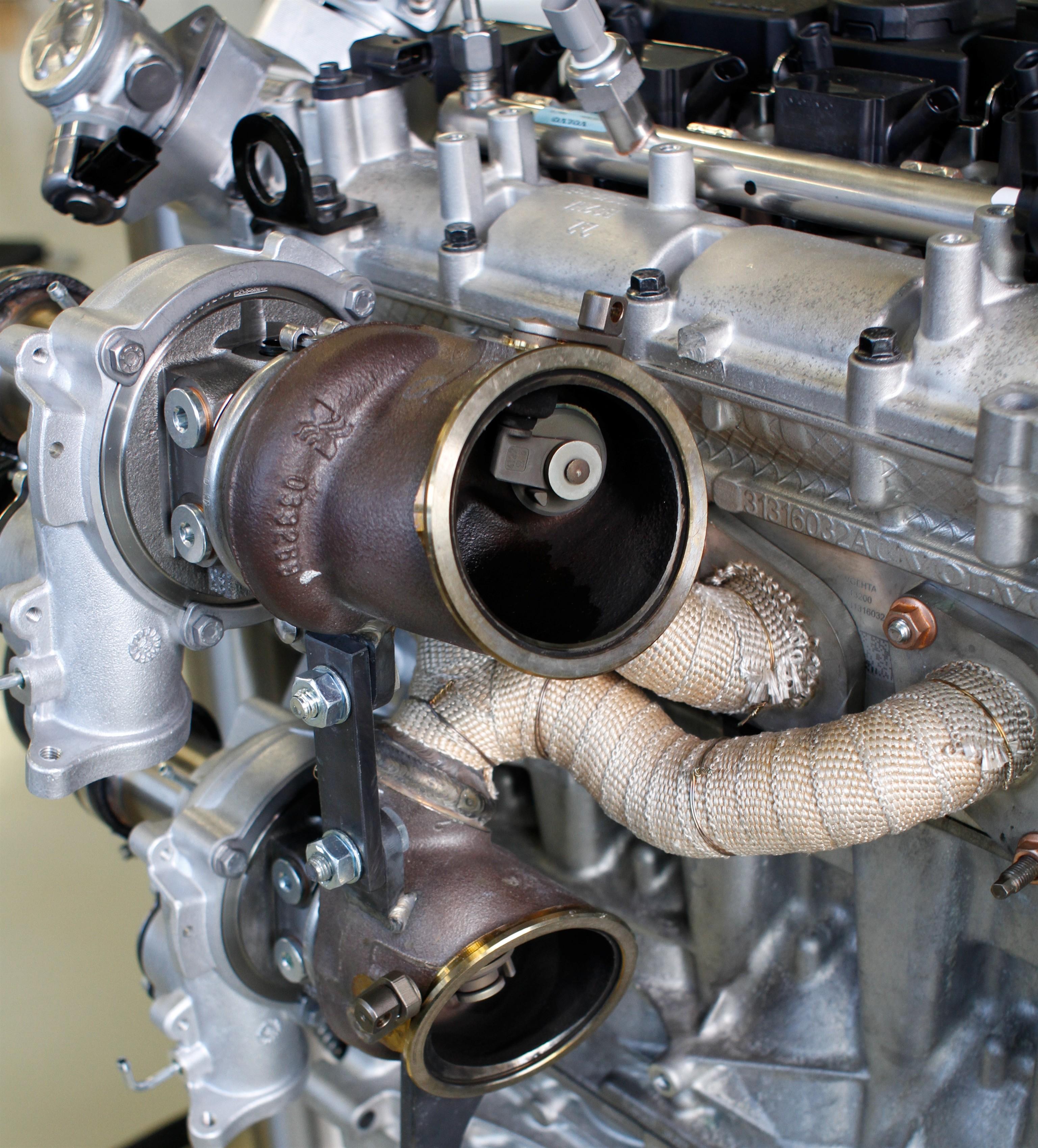 Alfa romeo 159 exhaust system