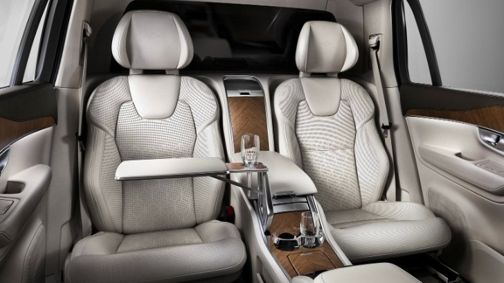 volvo unveils xc90 excellence 4 seat luxury suv for chinese market autoevolution. Black Bedroom Furniture Sets. Home Design Ideas