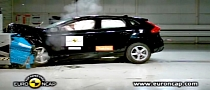 Volvo V40 Euro NCAP Crash Test Result - Safest Model in the Segment [Video]