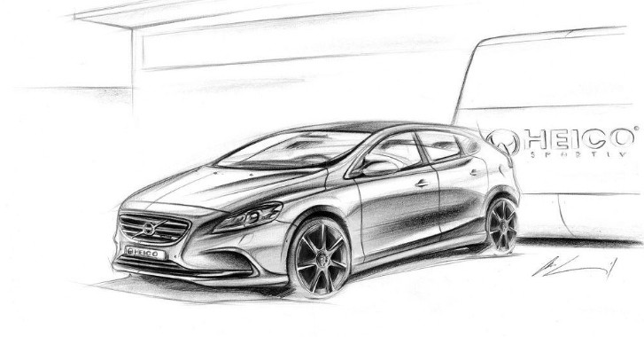 Volvo V40 Heico Sportiv Tuning Kit Preview