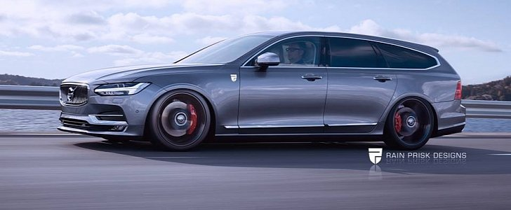 New Volvo Xc90 >> Volvo V90 Polestar Rendering: Why We Want a Performance ...