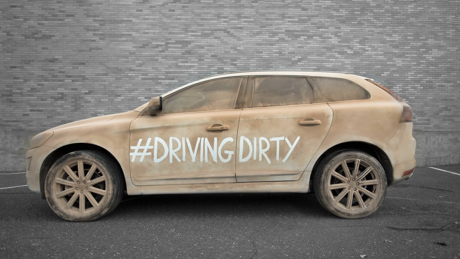 Volvo Wants You To Save Water By Driving Dirty Mercedes