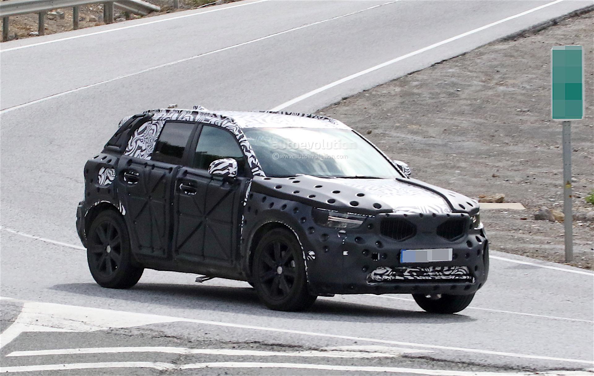 2019 Volvo Xc40 Spied Testing Reveals Its Interior Autoevolution