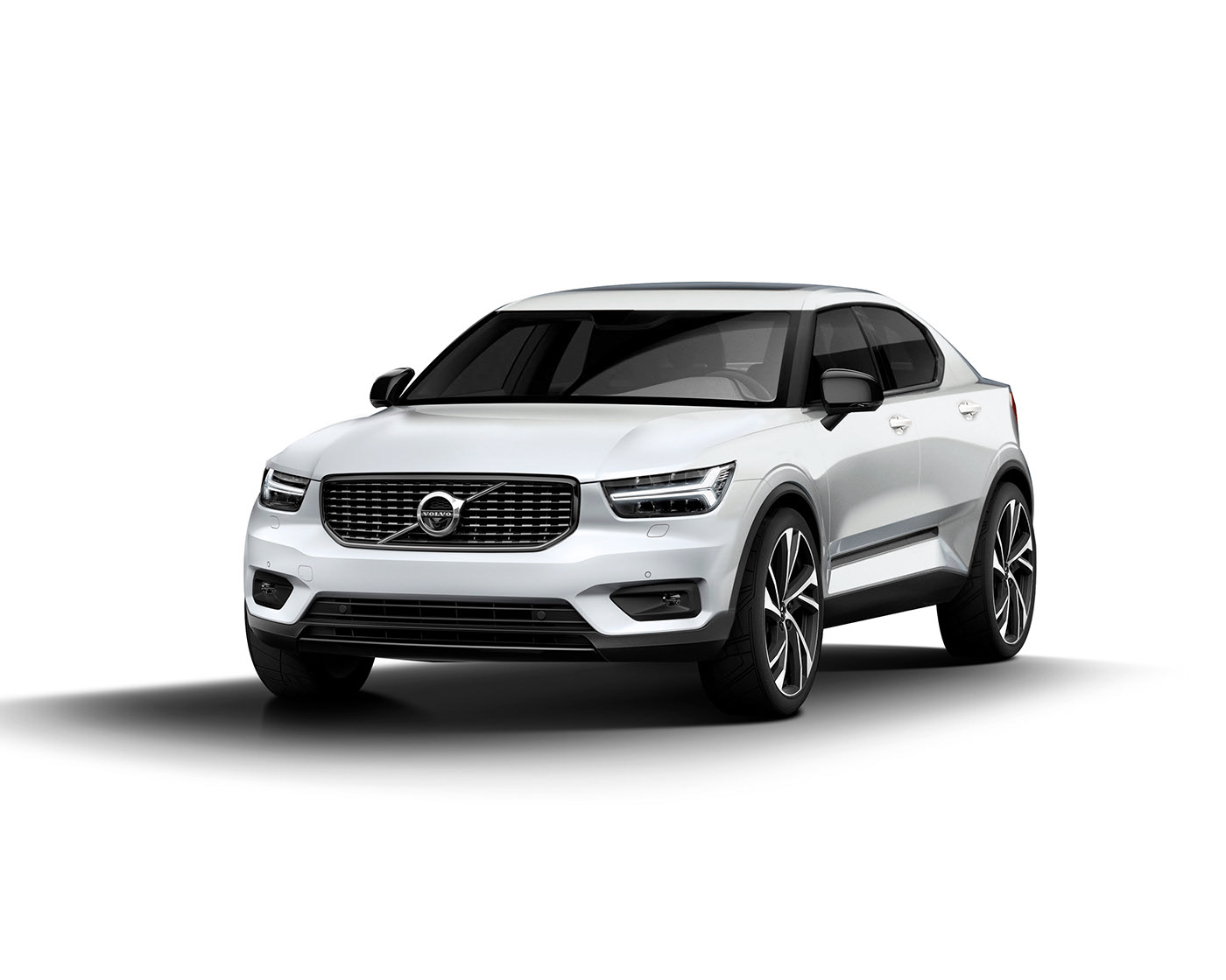 Volvo XC3 Coupe Rendered With Concept 3.3 Fastback Design, Could