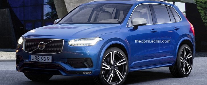 volvo xc40 rendering doesn 39 t catch the whole potential of volvo 39 s new design autoevolution. Black Bedroom Furniture Sets. Home Design Ideas
