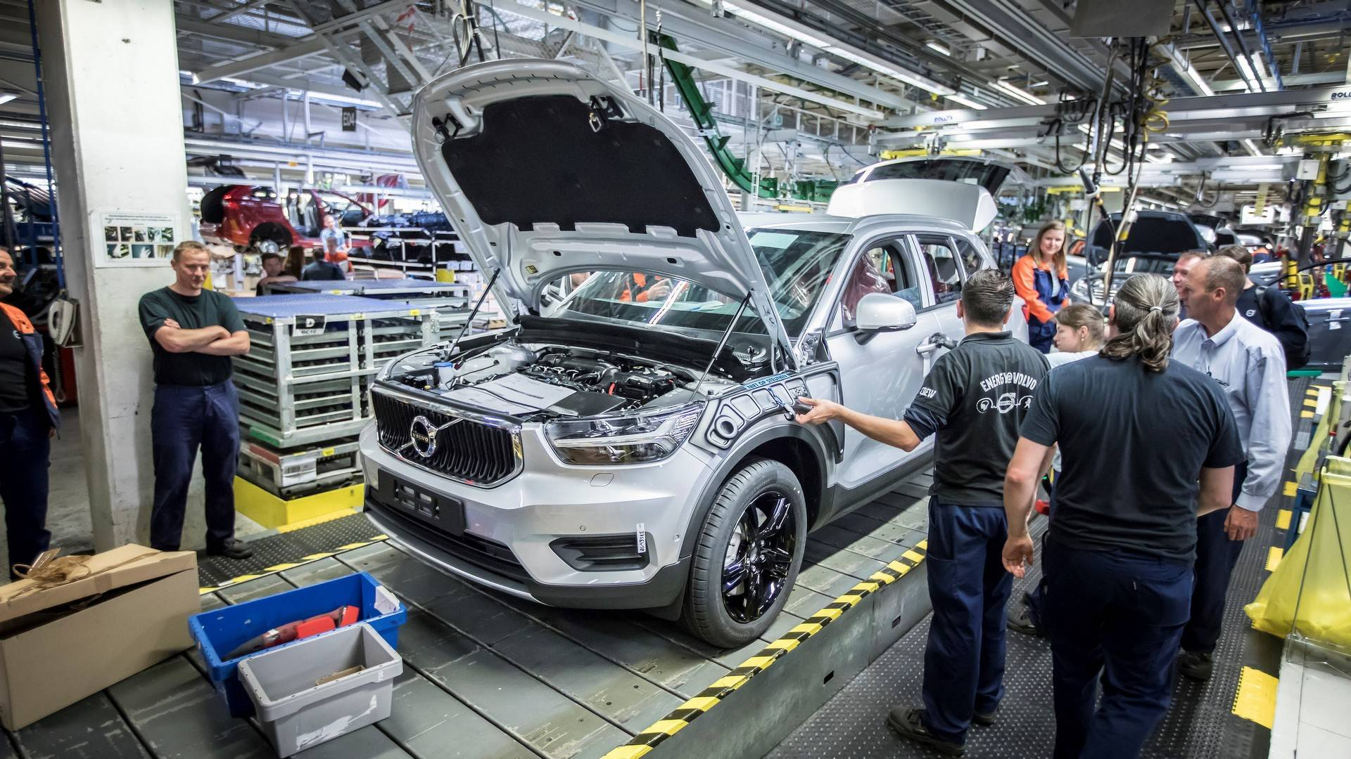 Volvo XC40 production begins in Belgium
