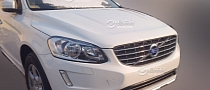 Volvo XC60 Facelift Photos Surface in China