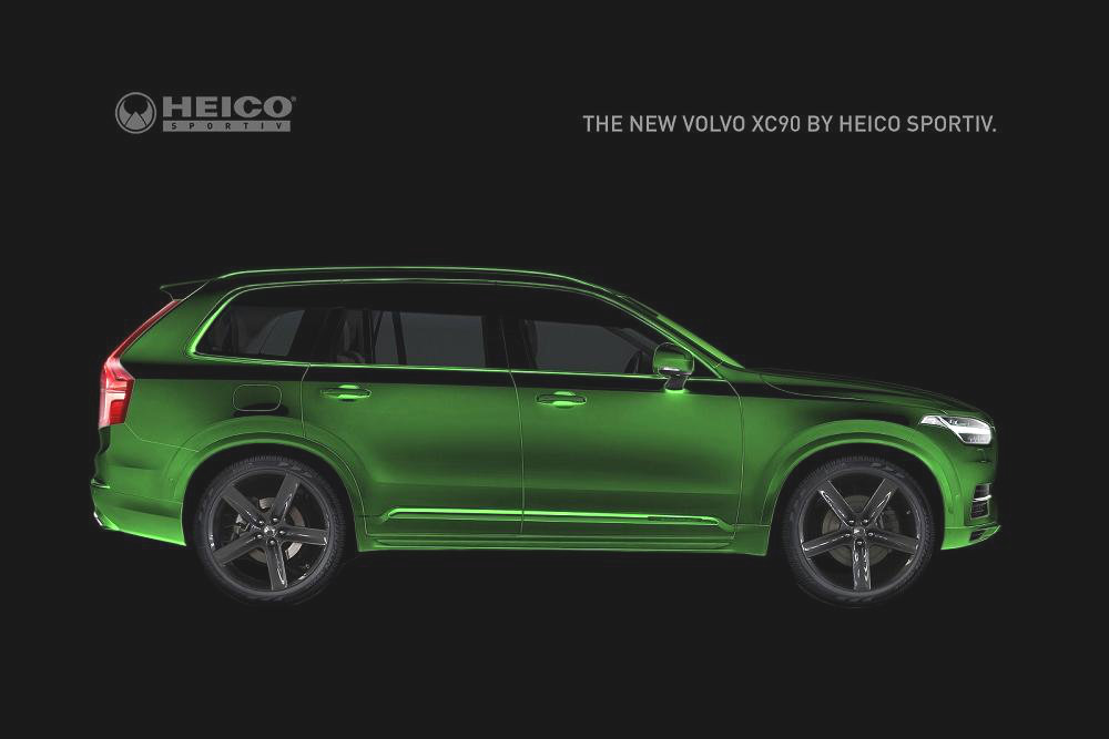 volvo xc90 heico sportiv tuning package teased autoevolution. Black Bedroom Furniture Sets. Home Design Ideas