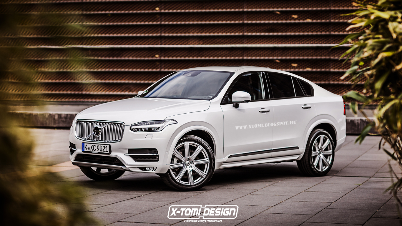Volvo XC90 Rendered as a Coupe SUV. Could This Become a Thing? - autoevolution