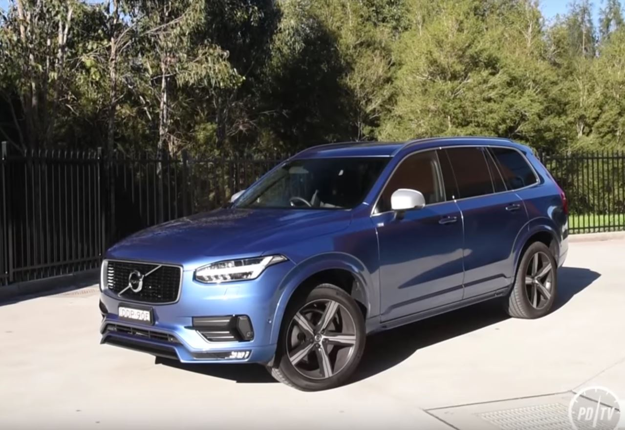 Volvo XC90 T6 R-Design Looks Good, Takes 100 KM/H Test With Polestar Kit - autoevolution