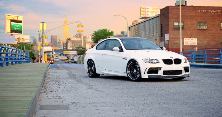 Vorsteiner BMW E92 M3 on the Streets of NYC [Photo Gallery]