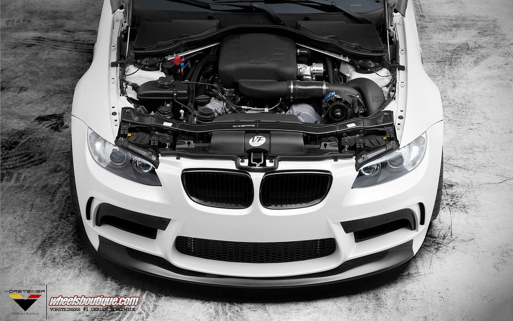 Vorsteiner Says Goodbye to BMW M3 via GTS5 Front Bumper ...