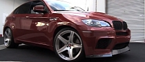 Vorsteiner BMW X6 M Looks Awesome on Video