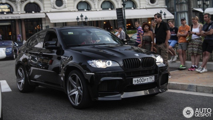 Vorsteiner BMW X6 M Rolls on the Streets of Monaco