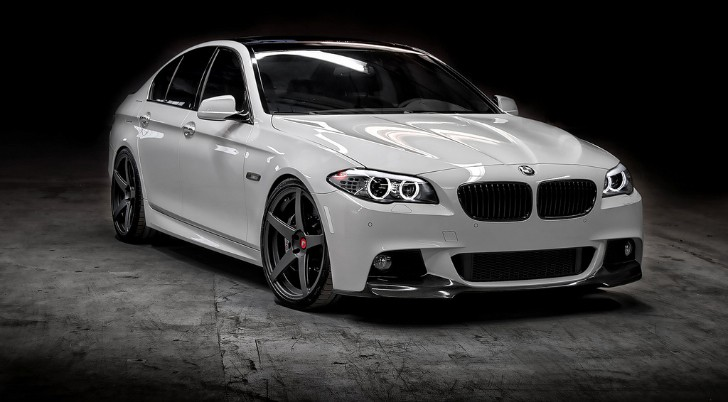 bmw 2015 5 series white. vorsteiner brings its f10 5 bmw 2015 series white