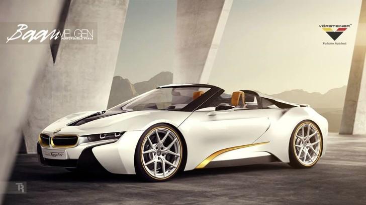 Vorsteiner Equipped BMW i8 Spyder Is Here to Haunt You ...