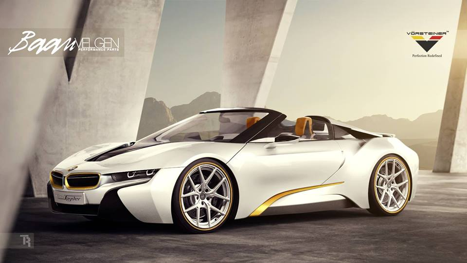 Vorsteiner Equipped BMW i8 Spyder Is Here to Haunt You - autoevolution