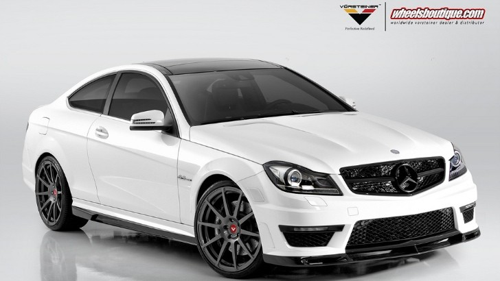 Vorsteiner Mercedes-Benz C63 AMG Coupe [Photo Gallery]