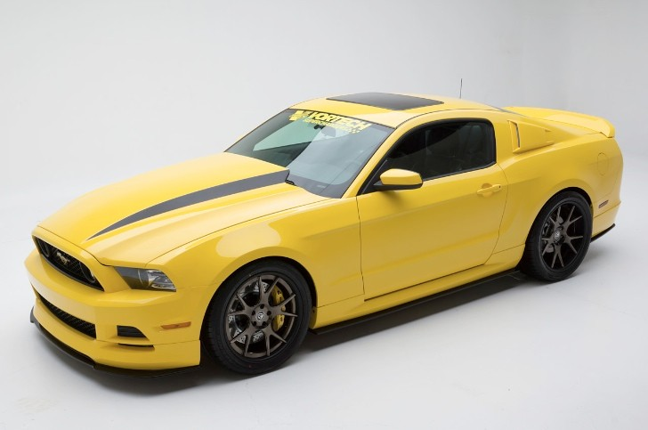 "Vortech Previews ""Yellow Jacket"" 2014 Mustang Ahead of SEMA"