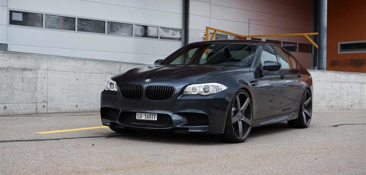 Vossen's Zurich Video Showcases a BMW M5 [Video]