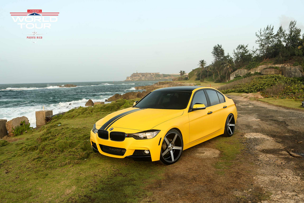 Vossen World Tour Hits Puerto Rico Bumblebee Bmw Makes The Introductions Autoevolution