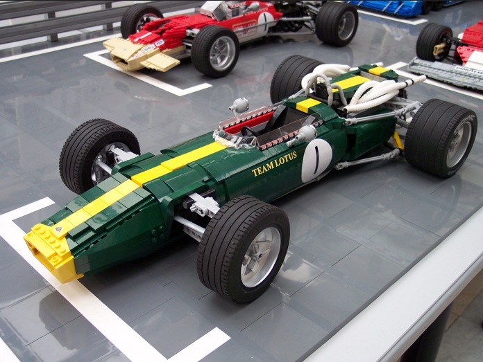Vote Your Favorite F1 Car Kit And Lego Will Build It For You