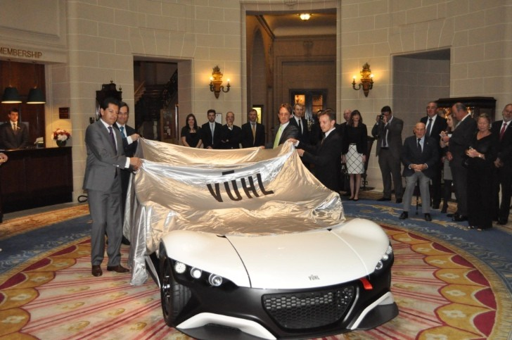 VUHL 05 Supercar Unveiled in London