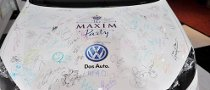 VW and Maxim Auction Off a GTI Hood for Haiti Relief