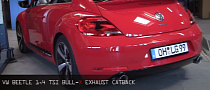 VW Beetle 1.4 TSI Gets Bull-X Exhaust [Video]