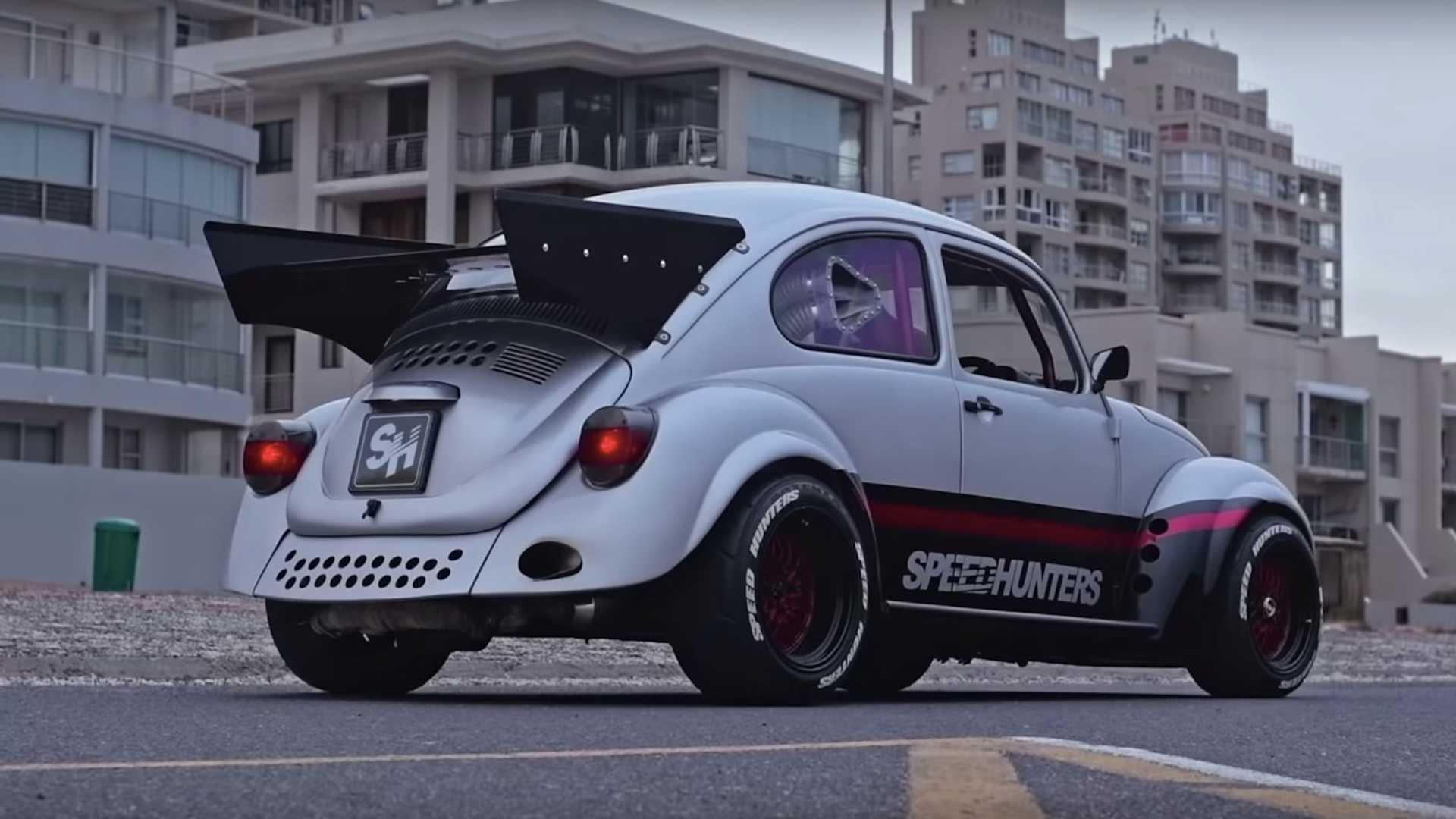 VW Beetle Dragster Has Subaru EJ20 Engine, Is no Love Bug