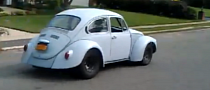 VW Beetle Packing Chevy 5.7L V8 Power [Video]