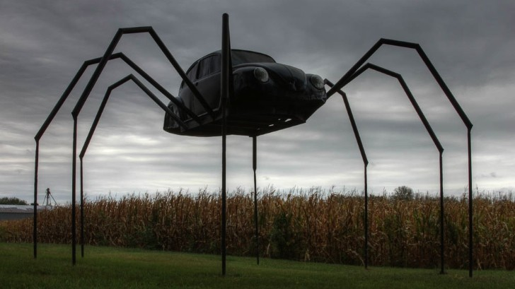 VW Beetle Spider Monster: The Revenge