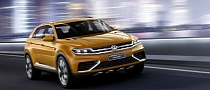 VW CrossBlue Coupe Makes World Premiere in Shanghai [Photo Gallery]