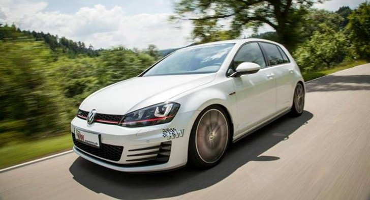 VW Golf 7 GTI Gets KW Suspension [Photo Gallery]