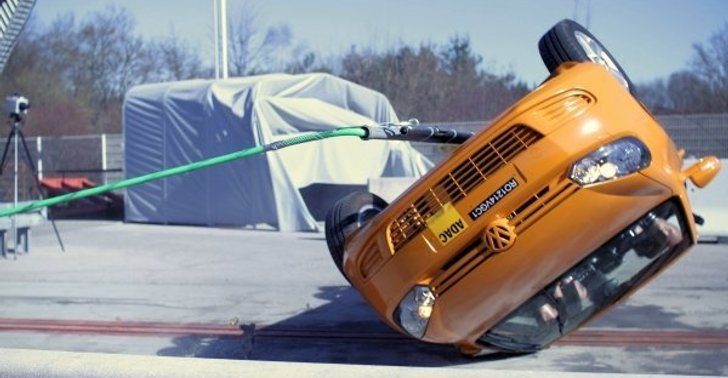 Vw Golf Cabrio Disappoints In Adac Rollover Crash Tests Autoevolution