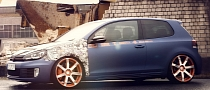 VW Golf GTI Gets Boost and Wrap from BBM