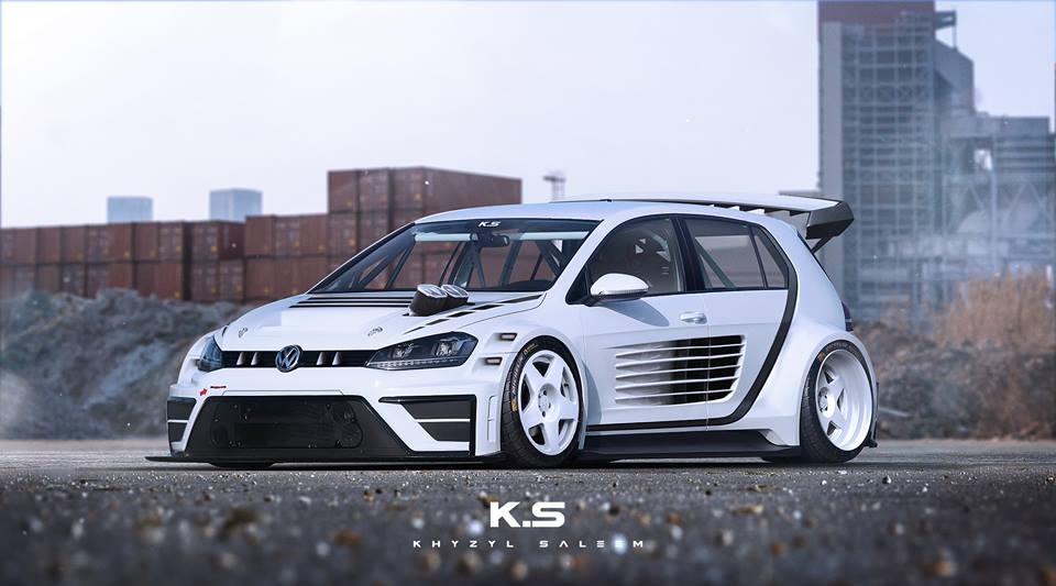 Vw Golf Gti Tcr Racecar Gets Wankel Power Ferrari