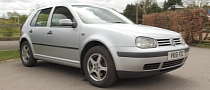 VW Golf IV TDI Hits 450,000 miles / 725,500 km in the UK