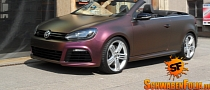 VW Golf R Cabrio Is a Sparkling Berry [Photo Gallery]
